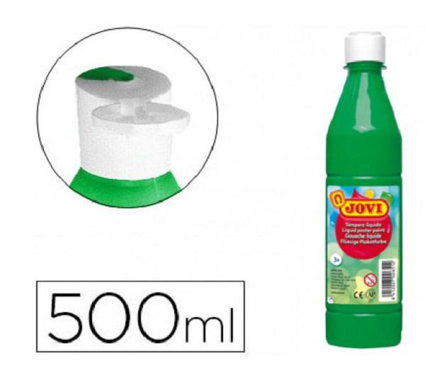 Tempera liquida verde medio