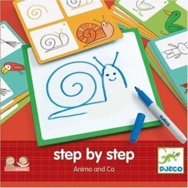 Eduludo step by step animales