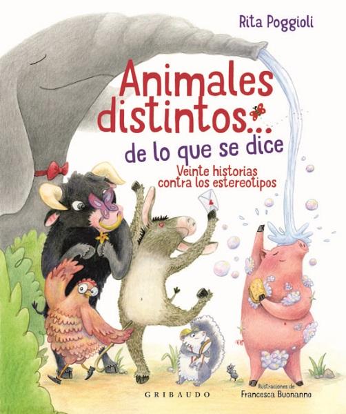 Libro animales distintos