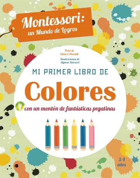 Montessori primer libro de colores