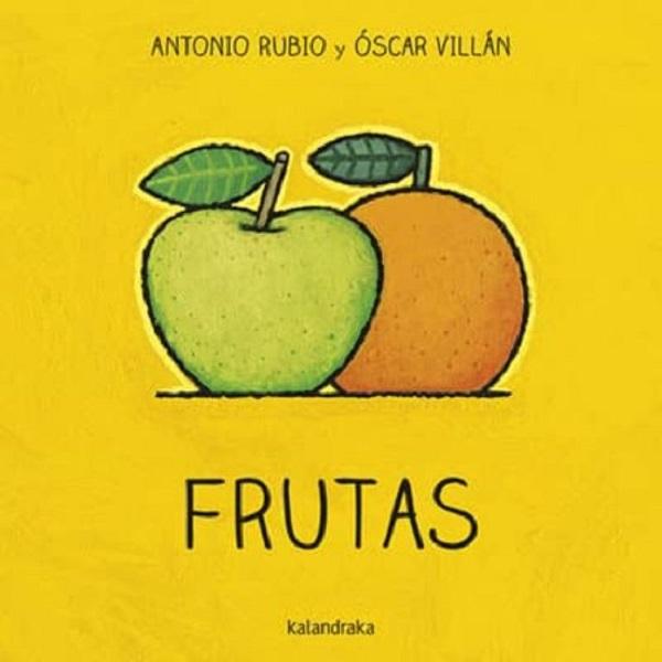 Libro frutas Antonio Rubio