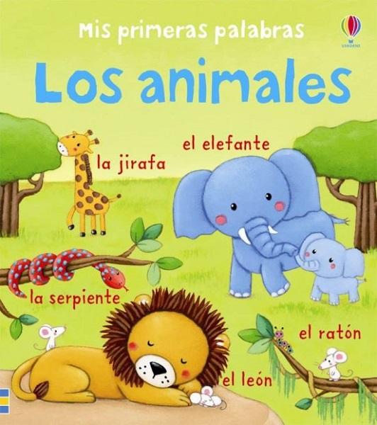 Libro primeras palabras animales